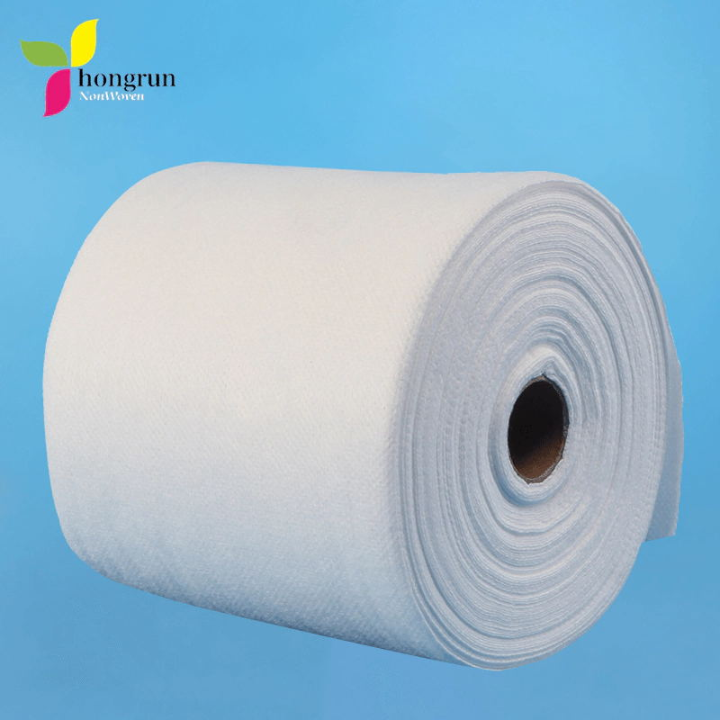High Quality Non-woven Fabric Beauty Tissue Disposable Face Towel Hand Towel Roll 12cm*20m 2ply 50gsm