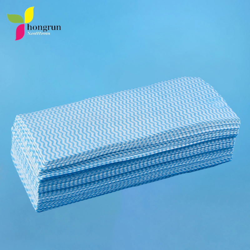 Cleaning Kitchen Disposable Dishcloth Non Woven In Roll