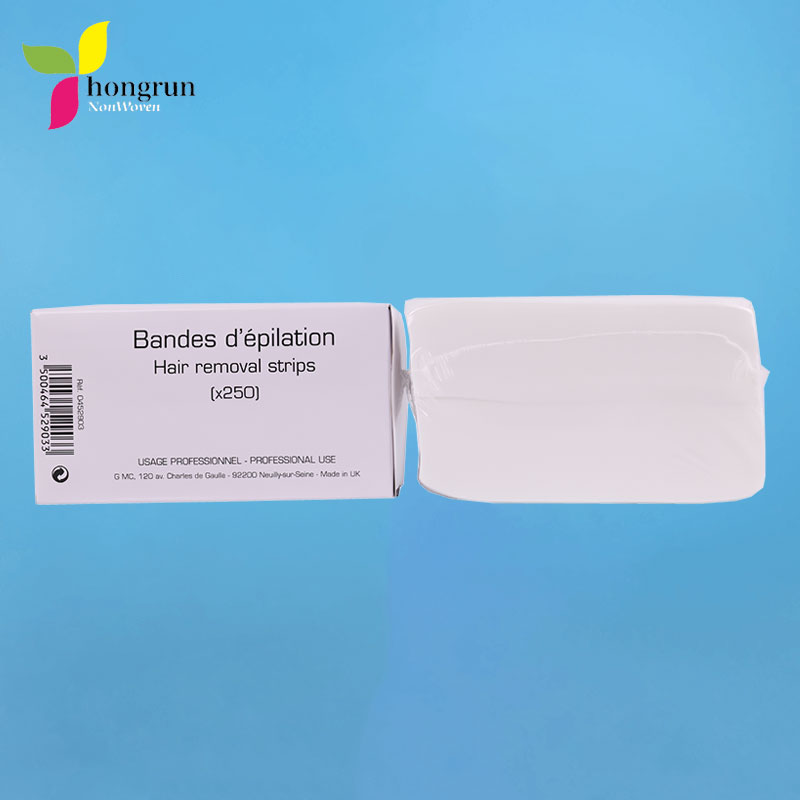 Hair removal strips